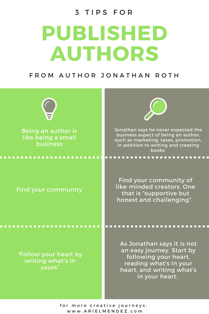 3 Tips For Published Authors
