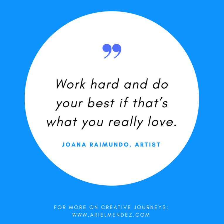 how to become a freelance artist- do what you really love